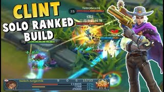 HOW TO SOLO CARRY WITH CLINT – STILL BEST MARKSMAN ?! Mobile Legends