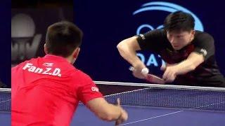 2017 Qatar Open (Ms-Final) MA Long Vs FAN Zhendong [Full Match/English|HD]