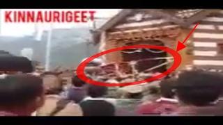 Jabbal Narayan Devta ji Flying 🙀🙀🙀🙀 At Ribba Santang | Kinnauri devta | Kinnauri deities