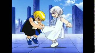 Zatch vs Zeno batalla final