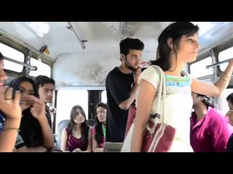 What Girls and boys Doing in bus A journey to remember HD