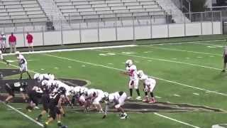 Tyler Wallace 8 grade FOOTBALL UNION REDSKINS