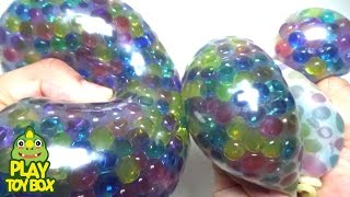 Stress Ball Balloons Orbeez DIY Squishy Learn Colors