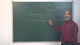 अंग्रेजी सीखें: Participles (verb+ing, verb+d/ed and having+verb+d/ed)