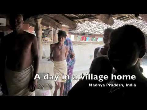 India Village Home Tour - Travel India - Madhya Padesh