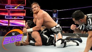 Mustafa Ali vs. Buddy Murphy-  No Disqualification Match: WWE 205 Live, July 3, 2018