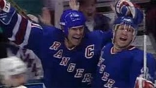 Mark Messier Guarantees Game 6 vs NJ Devils (from