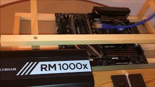 6 GPU Ethereum Mining Rig Hardware RX 570 4GB  for none tech people