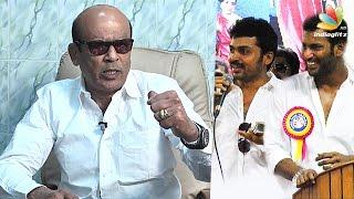 Velachery MLA Vagai Chandrasekar on recent controversy in Nadigar Sangam | Vishal, Sarathkumar