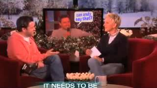 Andy's Hilarious Holiday Challenge on Ellen Show