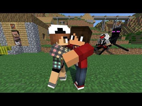 BF and GF Enjoying on Minecraft
