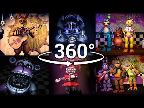 Xxx Mp4 360° Best FNAF 360 Show Compilation Five Nights At Freddy S SFM VR Compatible Part 1 3gp Sex