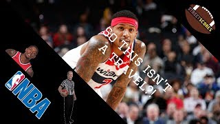 Bradley (Bill) Beal DID NOT Travel?! Official NBA Refs Statement and Explanation