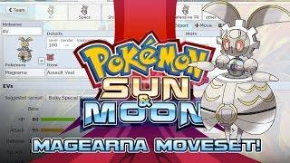 Magearna Moveset Guide! How to use Magearna! Pokemon Sun and Moon!