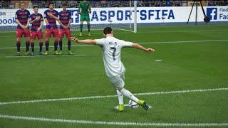 FIFA 17 DIRECT RABONA FREE KICK TUTORIAL