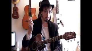 Hallelujah (Leonard Cohen) - Tuto guitare (UK Subtitles)