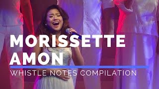Morissette Amon Whistle Notes Compilation