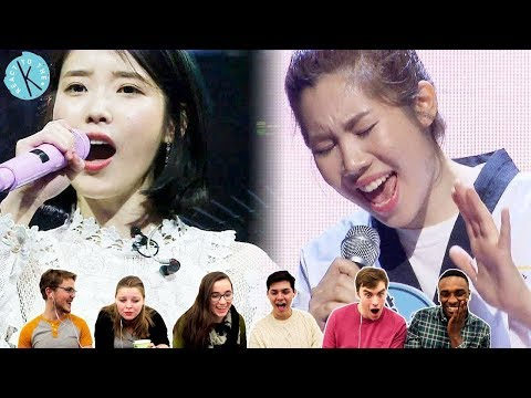 Classical Vocalists React: IU 'Good Day' [Fantastic Duo] (Part 1)
