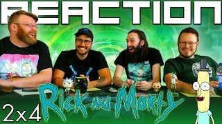 Rick and Morty 2x4 REACTION!!