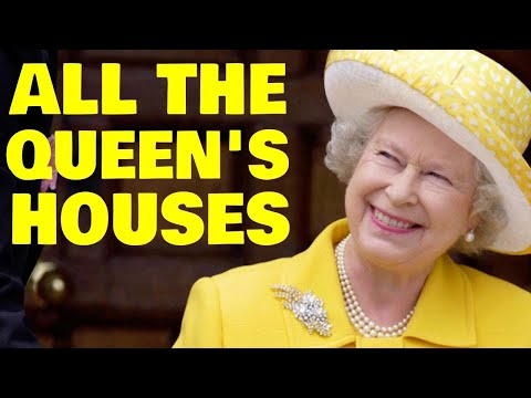 A Look Inside the Queen s 6 Lavish Royal Residences