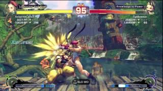 SSF4 AE 2012 Ranked    XxSpriteCanxX (Cammy) vs SgtBowser (Ibuki)