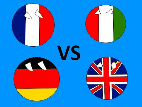 [REUPLOADED] France and Germany vs UK