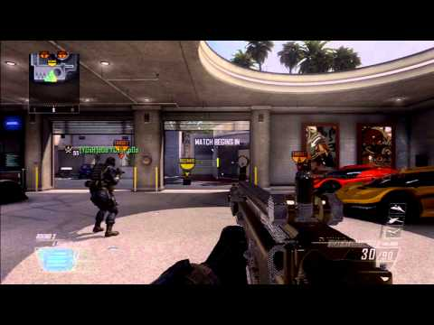 Black Ops 2: Search and Destroy 14-2 on Raid SCAR-H Gameplay