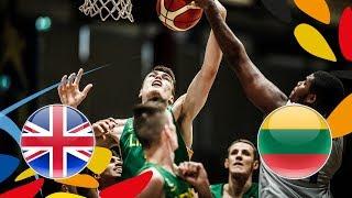 Great Britain v Lithuania - Full Game - FIBA U20 European Championship 2018