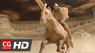 "CGI ""Making of Sand Castle (Chateau de Sable) Short Film"" by ESMA"