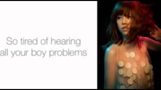 Boy Problems - Carly Rae Jepsen [LYRICS]
