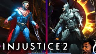 WHO SHOULD WE CHOOSE!? SUPERMAN OR BATMAN?! | Injustice #12