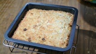 Goan Baath Cake - Coconut & Semolina Cake Recipe   Christmas Festive Sweets