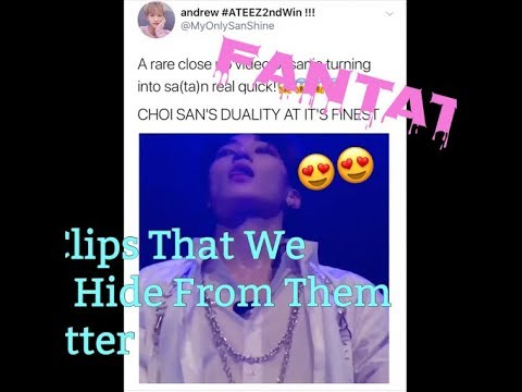 Ateez Clips That We Should Hide From Them On Twitter