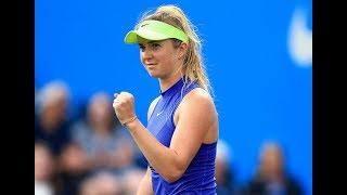 2017 Aegon Classic First Round | Elina Svitolina vs Heather Watson | WTA Highlights