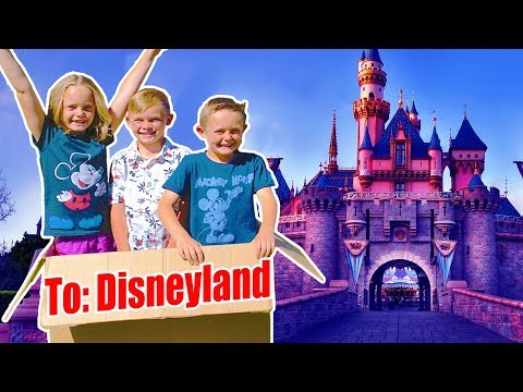 Tinkerbell Magically Flew Us To Disneyland Pt 1 Kids Fun TV Family Vacation