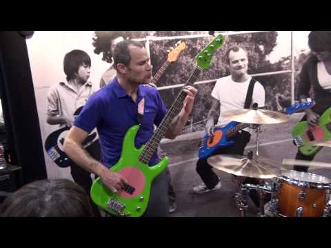 NAMM SHOW 2010 Flea and Chad