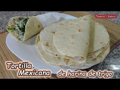 Xxx Mp4 TORTILLAS MEXICANAS De Harina De Trigo Receta Muy Fácil Temperos E Sabores 3gp Sex