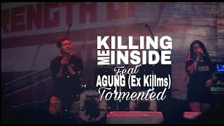 Killing Me Inside feat Agung (Ex Killms) - Tormented (Live at JakCloth YES Senayan 2016)