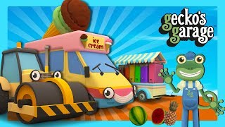 Rick The Road Roller Squashes Fruit   Gecko