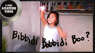 Bibbidi-Bobbidi-Boo | A VERY AMATEUR VIDEO