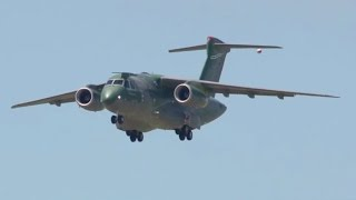 Embraer - KC-390 Military Transport Aircraft First Flight [1080p]