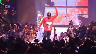 "Nasty C performs ""Said"" with Runtown at Davido's 30 Billion concert"