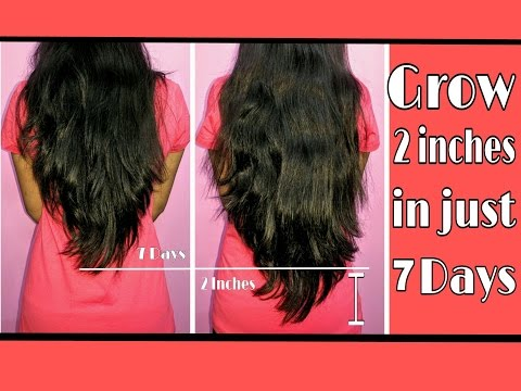 Grow 2 inches in 7 days | Indian Hair Growth Secret | how to grow hair faster ?