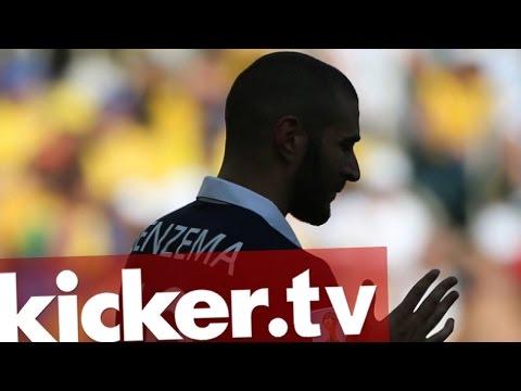 Französischer Verband suspendiert Benzema - kicker.tv