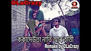 Koka deuta aru nati aru hathi || OLaCrazy || New Assamese comedy video