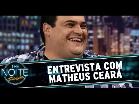 The Noite 25 09 14 Entrevista com Matheus Ceará