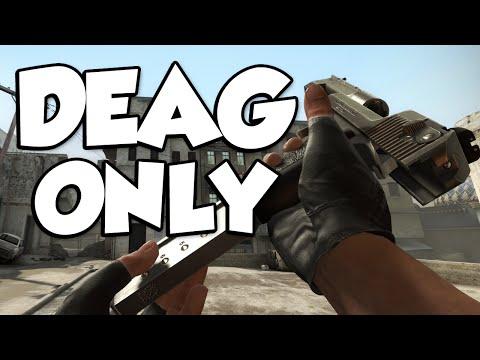 DEAGLE ONLY DEATHMATCH! (CSGO Deathmatch Challenge)