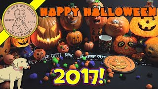 Halloween 2017 Candy, Snacks & Toys Series!  Butch Costumes! Trick Or Treat?