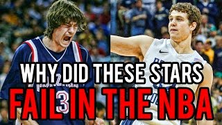 Top 4 College Basketball STARS Who FAILED in the NBA!