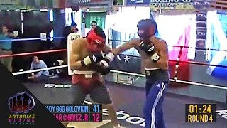 Gennady GGG Golovkin vs Julio Cesar Chavez Jr (Sparring Session Enhanced Footage + Punch Count)